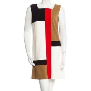 DVF Mondrian Dress, Sz 10